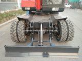 Mini Excavadora de ruedas con agarre para la captura para la venta caliente