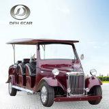 Buggy facente un giro turistico a bassa velocità di golf del carrello dell'automobile di alta qualità delle 2 sedi
