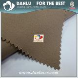 La fábrica China de poliéster 100% 4 forma de estirar el tejido de poliéster Bombardero Chaqueta 92 8 Tejido Spandex