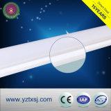 Corchete plástico del tubo de la cubierta LED de la cubierta del tubo del LED