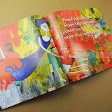 Impresión pesada del libro de la pintura de la impresión del libro de la cobertura de la tinta