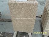Cascada blanca de piedra natural de la piedra caliza para la decoración de la pared