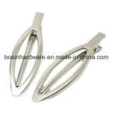 Arbre de forme ovale en métal Hair Clip