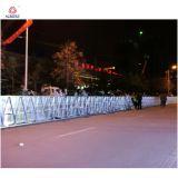 A barreira expansível da barreira de ruído elétrico da estrada fácil instala a barreira de dobramento