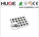 batteria CR2032 delle cellule del tasto del metallo del litio di 3V 220mAh
