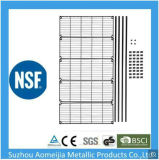 Amj NSF легких домашних хозяйств 4 яруса металлической проволоки изготовления стеллажей