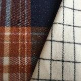 Chaqueta de Tweed de lana tejido de lana, tejido de la chaqueta de lana