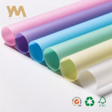 Прозрачный чистый цвет водонепроницаемая упаковочная бумага из вторсырья букет