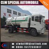 Caminhão de tanque novo da sução da água de esgoto de 2018 Dongfeng com melhor qualidade