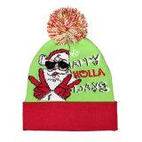 人のトナカイデザインクリスマスの冬は帽子の帽子についてへまをする