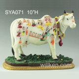다른 종류 힌두교 신 수지 동상 결혼식 훈장