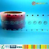 Escritura de la etiqueta pasiva de la frecuencia ultraelevada M4 J41 de ISO18000-6C RFID para los frascos farmacéuticos