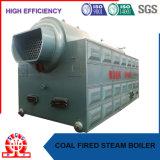 Feu de bois et au charbon chaudière à combustible solide du tube