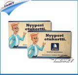 مستطيلة مصغّرة [رفيد] بطاقة, [نفك] بطاقة مصغّرة مع صنع وفقا لطلب الزّبون رسم بيانيّ