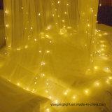 lumière de cuivre de chaîne de caractères de rideau en 3*3m pour Noël/usager/décoration à la maison