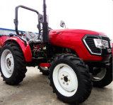 50HP 4WD de Tractor van het Landbouwbedrijf met de Dubbele Rem van de Koppeling en van de Lucht