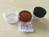 frasco de creme cosmético do animal de estimação plástico de 3ml 5ml 7ml 10ml 20ml