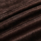 Terciopelo 2018 de la tela de Brown con la capa