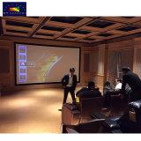 """HK 80c серии 160"""" 16: 9/2.35: 1/4: 3 изогнутые неподвижной рамкой проекционного экрана/ плоской рамы проектор для домашнего кинотеатра Full HD"""