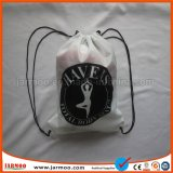 Commerce de gros sac de tissu du jute petit cordon de serrage
