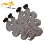 バージンの人間の毛髪のバージンのブラジルのジェリーのカールの毛の織り方