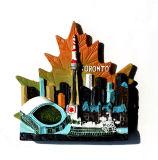 3D Magneet van de Koelkast van Polyresin van de Gift van de Herinnering van de Vlekken van de Toerist van Canada 3D