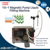 Machine liquide de Fillling de pompe magnétique Semi-Automatique de Youlian pour la boisson (YG-1)