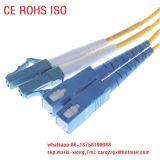 FC Bunch cordon de raccordement à fibre optique, les fils câble de pontage