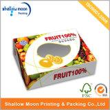 Cartons d'expédition ondulés de empaquetage de boîte de traitement à fruit portatif fait sur commande de carton