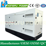 90kw de potencia de 113kVA Prime Generador Cummins Diesel/Super Silencioso tipo