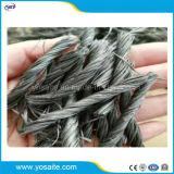 Fibra Twisted del calcestruzzo della fibra del gruppo dei pp