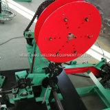 Zink-Beschichtung heißes BAD Galvanized Barbed Draht-Maschine