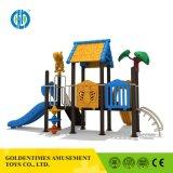 Оптовая торговля высокого качества детского сада и небольшой пластиковый детская игровая площадка для использования вне помещений
