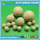 Шарики глинозема Al2O3 15~22% инертные керамические для СО2 дегазируя башню