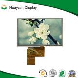 5 visualización de la pantalla táctil de la resolución TFT LCD de la pulgada 480*272