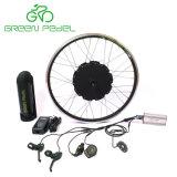 Greenpedel 36V 500W 48V 750W 전기 자전거 Gearless 허브 모터 변환 장비