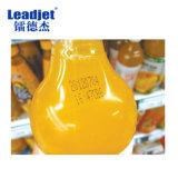 Impresora de la inyección de tinta del código de barras de la fecha de la escritura de la etiqueta de Leadjet V380 para la botella plástica