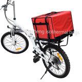 De plus gros volume isolés d'usine thermique de transporter des vivres de vélo de livraison de pizza sac du refroidisseur