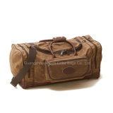 Мужская мода смазанной Canvas путешествующих туристов Duffle Bag