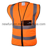 La sûreté normale de la CE En20471 de prix usine vêtx le gilet r3fléchissant