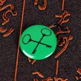 Divisa impresa barato modificada para requisitos particulares del Pin de la solapa de la fábrica del OEM cualquie divisa del estaño del diseño de la insignia
