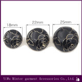 Botão de metal por grosso de vestuário de costura acessórios de vestuário