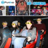 Experiência de cinema no interior montanha-russa Truck Mobile 5D 7D 9D Home Theater de filmes
