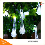 30의 LED 태양 크리스마스 불빛은 8개의 최빈값 물 하락 옥외 정원을%s 태양 요전같은 끈 빛을 방수 처리한다
