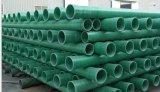 Tubo di plastica a fibra rinforzata del tubo del cilindro di vetro di fibra di FRP