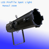 200W는 백색 LED 단면도 반점 극장 빛을 데운다