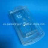 شفّافة محارة بلاستيكيّة يعبّئ صينيّة