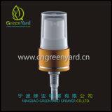 スキンケアのローションのクリームポンプディスペンサー、装飾的なびんのためのプラスチック処置ポンプ