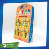 El punto de venta de papel cartón Mostrar Estante para Chocolatería Venta