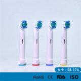 Pistas compatibles del reemplazo del cepillo de dientes eléctrico de la precisión neutral para B/Braun oral Flexisoft